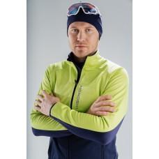 Разминочная куртка Nordski Premium Green/Blueberry