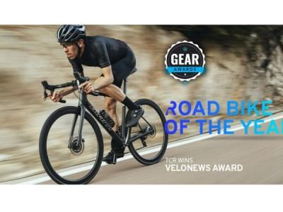 VeloNews вручил награду в категории, шоссейный велосипед года, Giant TCR Advanced SL 0