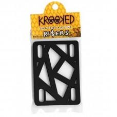 Подкладки Krooked BLACK 1/4