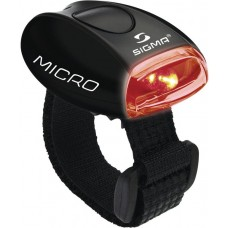 Фонарь Sigma Micro black red