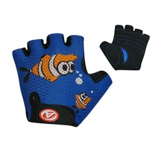 Перчатки Author Fish blue-black