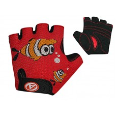 Перчатки Детские Author Fish red-black