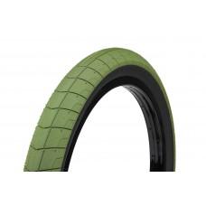 Покрышка Eclat Fireball army green/black sidewall