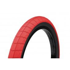 Покрышка Eclat Fireball neon red-black sidewall