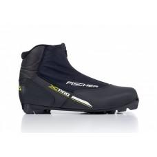 Беговые лыжные ботинки Fischer XC PRO BLACK YELLOW